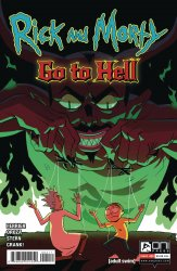 Oni Press's Rick and Morty: Go to Hell Issue # 4