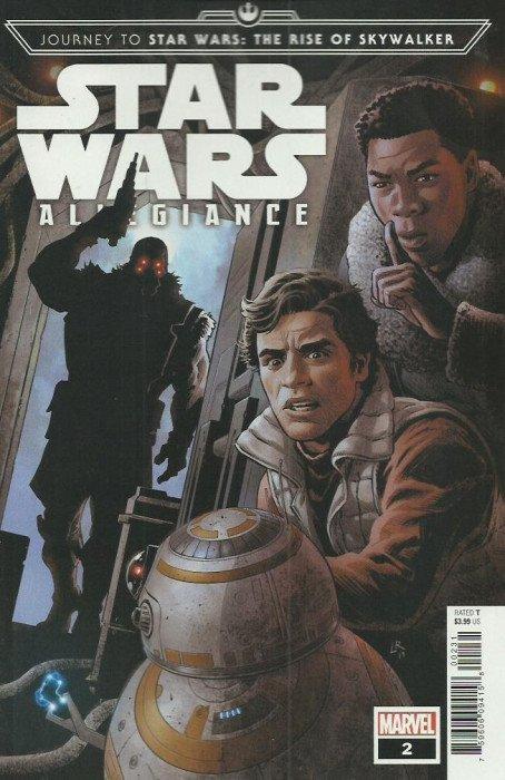 Journey To Star Wars Rise Of Skywalker Allegiance Issue 2c Marvel Comics