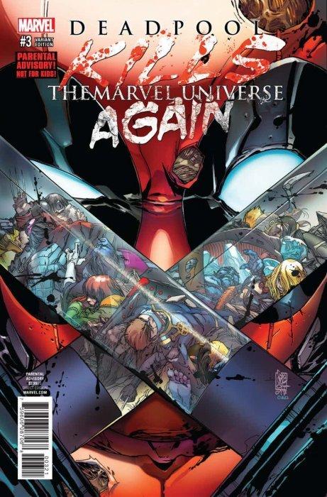 Deadpool Kills The Marvel Universe Again Issue 1 Marvel Comics