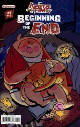 KaBOOM!'s Adventure Time: Beginning of the End Issue # 1b