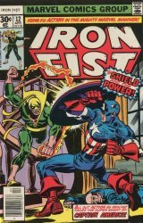 Marvel Comics's Iron Fist Issue # 12