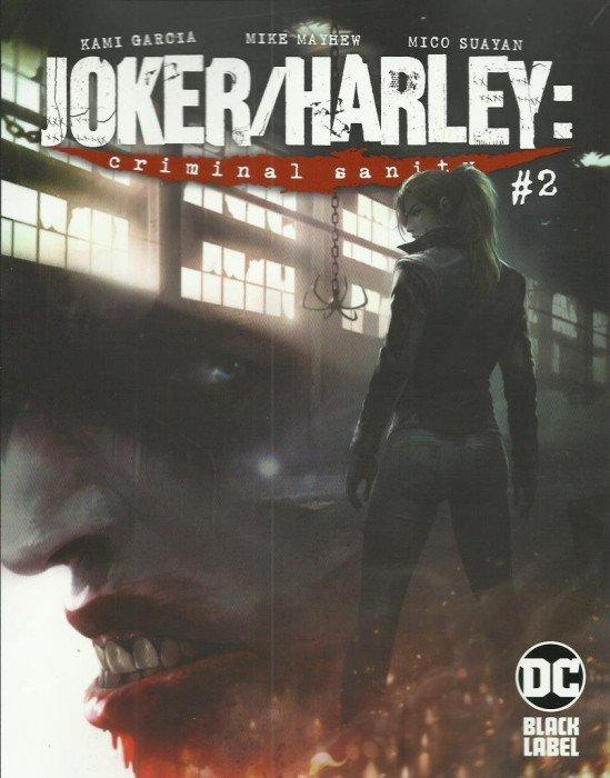 JOKER HARLEY CRIMINAL SANITY 1 MICO SUAYAN VARIANT NM of 9