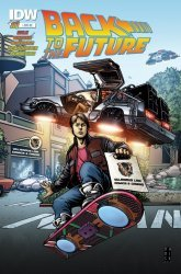 IDW Publishing's Back to the Future Issue # 1ll