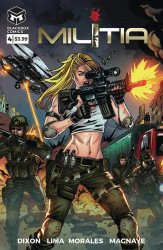 Blackbox Comics's Militia Issue # 4
