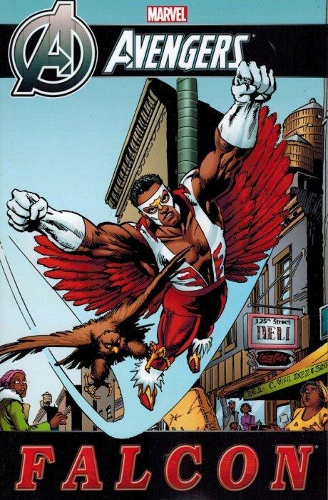 Avengers falcon tpb 1 marvel comics - Faucon avengers ...