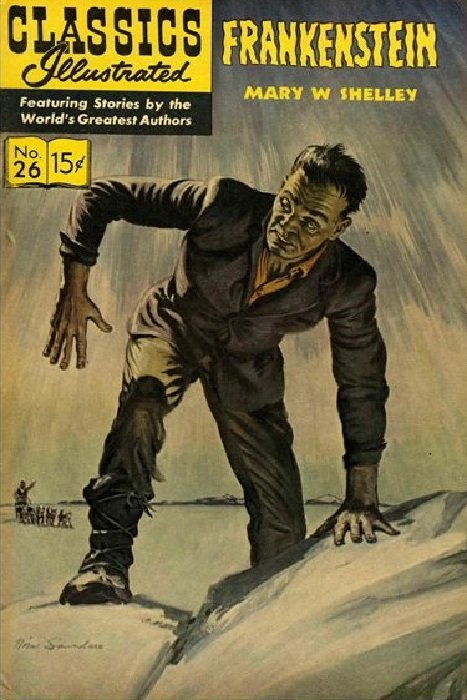 ... monster : the story of Frankenstein Frankenstein - Tropp, Martin