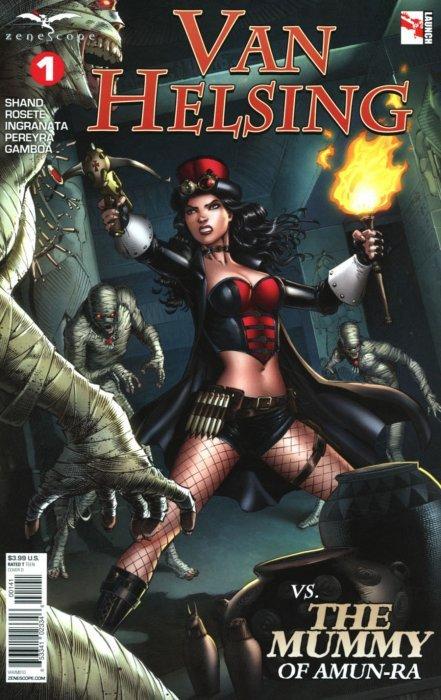 Van Helsing vs The Mummy #2 Cover A Zenescope Comic GFT NM Otero