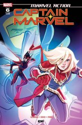 IDW Publishing's Marvel Action: Captain Marvel Issue # 6