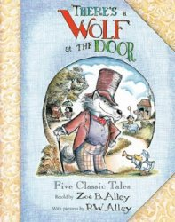 First Second Books's There's a Wolf at the Door Hard Cover # 1
