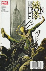 Marvel Comics's Immortal Iron Fist Issue # 2b
