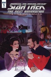 IDW Publishing's Star Trek: The Next Generation - Terra Incognita Issue # 1ri