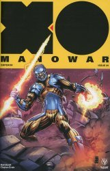 Valiant Entertainment's X-O Manowar Issue # 9e