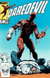 Marvel Comics's Daredevil Issue # 200