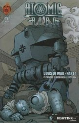 Red 5 Comics's Atomic Robo: Dogs of War Issue # 1heavyink.com