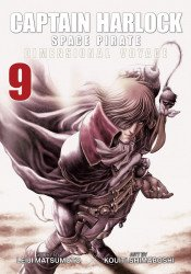 Seven Seas Entertainment's Captain Harlock Space Pirate: Dimensional Voyage Soft Cover # 9