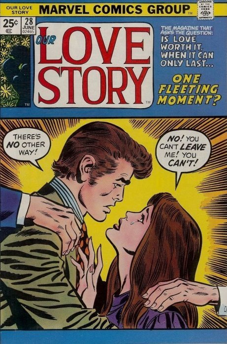 Our Love Story 34 (Marvel Comics)