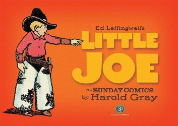 IDW Publishing's Little Joe: Sunday Comics By Harold Gray Hard Cover # 1