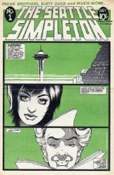 Homestead Press's Seattle Simpleton Issue # 1
