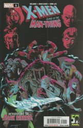 Marvel Comics's X-Men: Curse of the Man-Thing Issue # 1