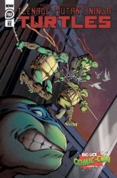 IDW Publishing's Teenage Mutant Ninja Turtles Issue # 102big lick