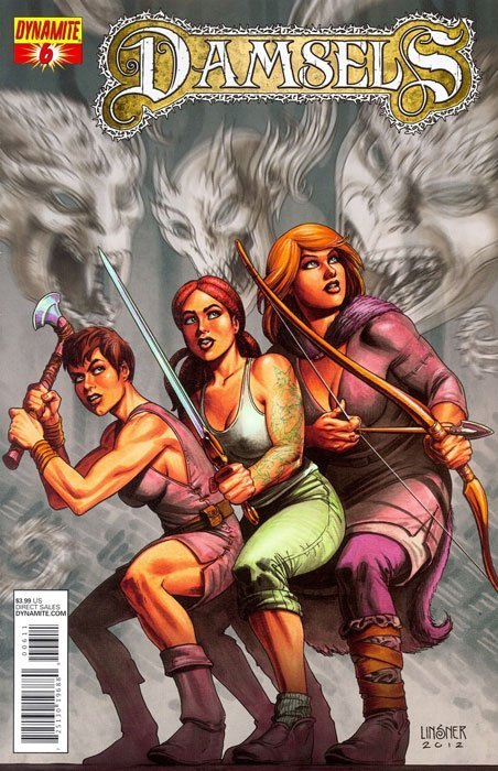 Damsels 1 (Dynamite Entertainment) ComicBookRealm.com | Download