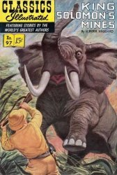 Gilberton Publications's Classics Illustrated #97: King Solomon's Mines Issue # 6