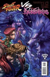 UDON Entertainment's Street Fighter vs Darkstalkers Issue # 1fried pie
