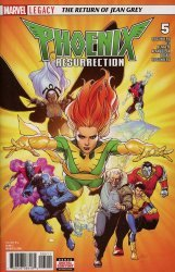 Marvel Comics's Phoenix Resurrection: The Return of Jean Grey Issue # 5