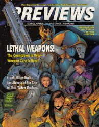 Diamond Comics Distribution's Previews Issue # 87
