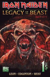 Heavy Metal's Iron Maiden: Legacy Of The Beast - Night City Issue # 1sdcc-b