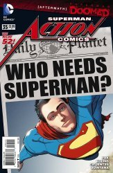 DC Comics's Action Comics Issue # 35