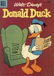 Dell Publishing Co.'s Donald Duck Issue # 52b