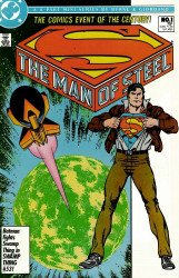 DC Comics's The Man of Steel Issue # 1