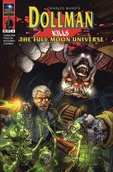 Full Moon Comix's Dollman Kills The Full Moon Universe Issue # 4b