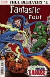 Marvel Comics's True Believers: Fantastic Four - Ronan and The Kree Issue # 1