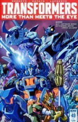 IDW Publishing's Transformers: More Than Meets the Eye Issue # 49ri