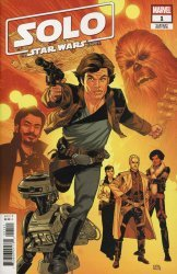 Marvel Comics's Solo a Star Wars Story Adaptation Issue # 1b