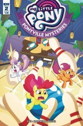 IDW Publishing's My Little Pony: Ponyville Mysteries Issue # 2b