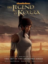 Dark Horse Comics's Legend Of Korra: The Art Of The Animated Series Hard Cover # 1