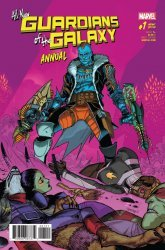 Marvel Comics's All-New Guardians of the Galaxy Annual # 1b