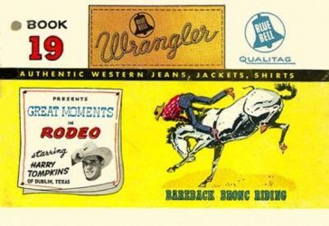 American Comics Group's Wrangler: Great Moments in Rodeo Issue # 19