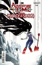 KaBOOM!'s Adventure Time: Marcy & Simon Issue # 4b