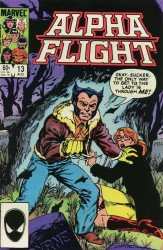Marvel Comics's Alpha Flight Issue # 13