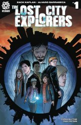 After-Shock Comics's Lost City Explorers Issue # 1b