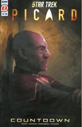 IDW Publishing's Star Trek: Picard - Countdown Issue # 2 - 2nd print