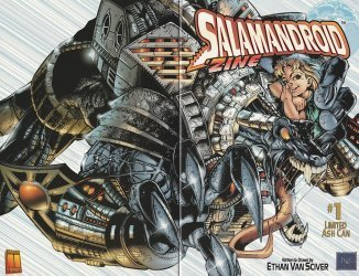 Harris Comics's Salamandroid Issue # 1