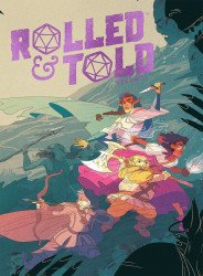 Lion Forge Comics's Rolled & Told Hard Cover # 1