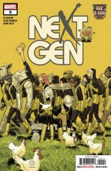Marvel Comics's Age of X-Man: Nextgen Issue # 5