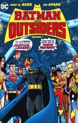 DC Comics's Batman And The Outsiders Hard Cover # 1