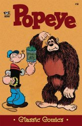 IDW Publishing's Classic Comics: Popeye Issue # 58